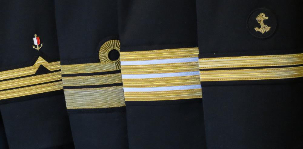 dystynkcje na rękawy marynarki