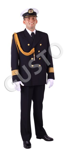 męskie ślubne aranżacje mundurowe - mundur na ślub