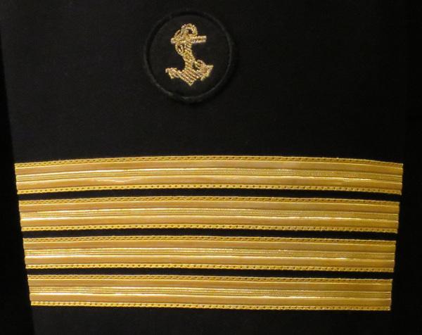 dystynkcje kapitana floty handlowej