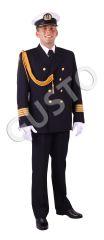 mundury Marynarki Handlowej dla kapitanów i oficerów floty handlowej